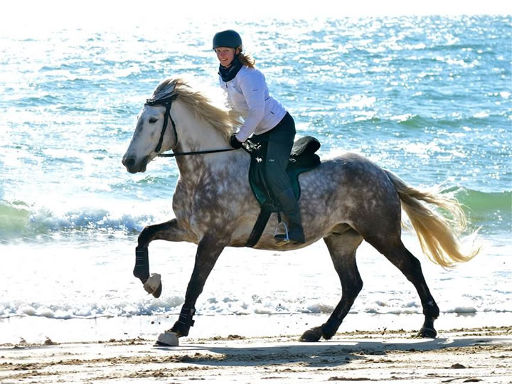 Beach Riding at Studland Stables in Dorset